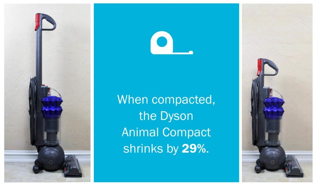 Dyson Ball Compact Animal Upright - compact size