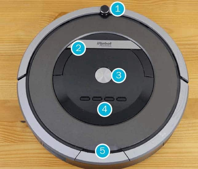 Roomba 870 robot vacuum features