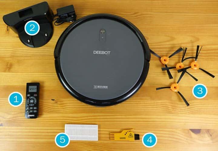 Ecovacs DEEBOT N79 robot vacuum accessories