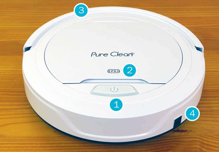 Pure Clean robot vacuum highlights