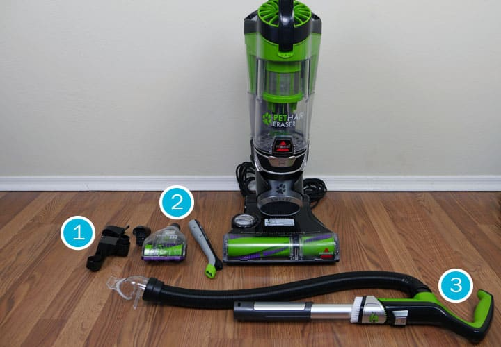 Bissell Pet Hair Eraser upright vacuum accessories