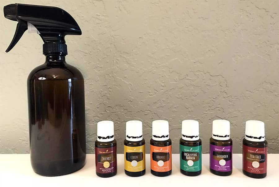essential oils for natural cleaning
