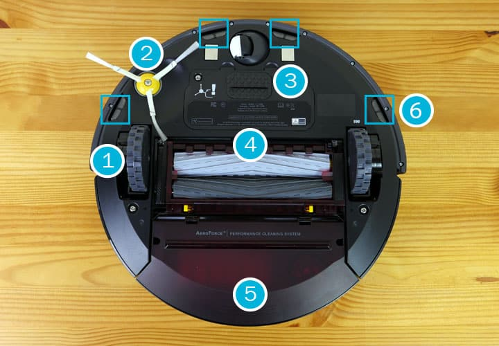 Roomba 890 robot vacuum how it cleans features