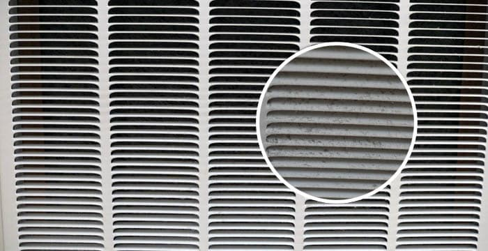 Clean dusty and dirty vent covers