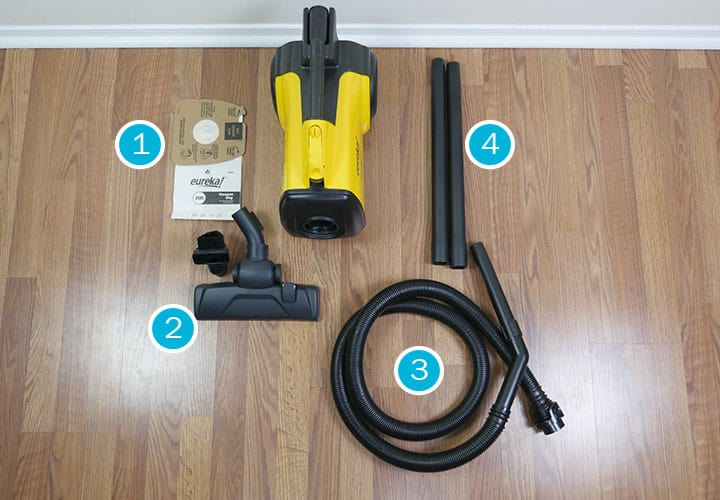 Eureka Mighty Mite Canister Vacuum Accessories