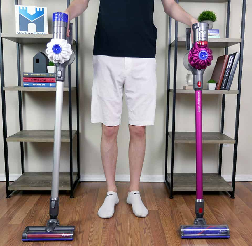 Dyson V6 vs V7 comparison review