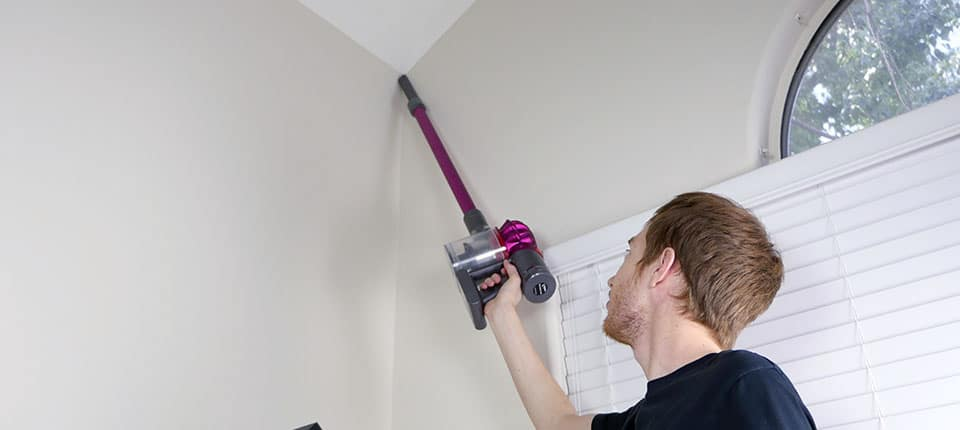 The Dyson V7 can be used to clean above the ground, as can the V10