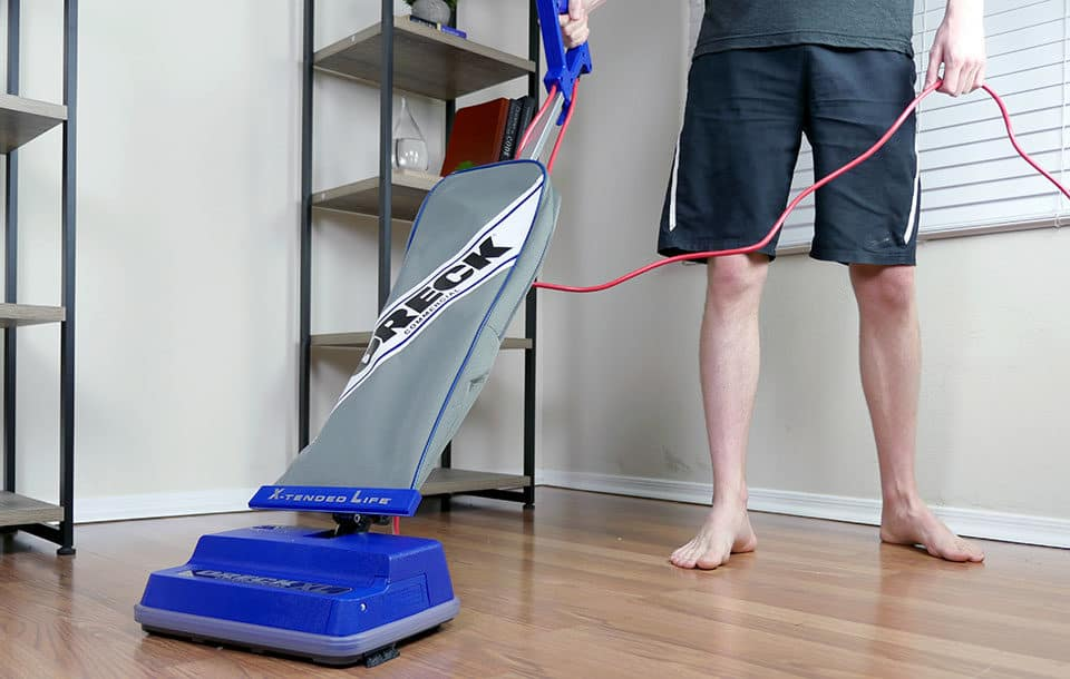 Oreck Commercial XL upright vacuum