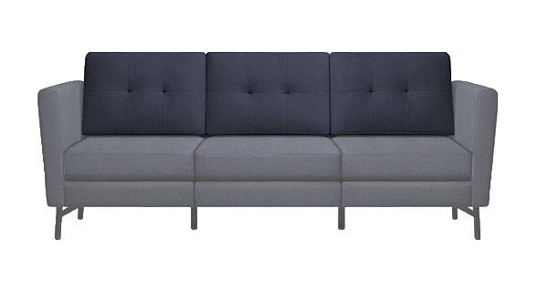 Burrow couch sofa furniture - back