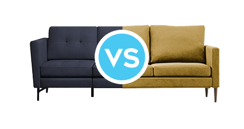 Burrow vs Campaign best sofa couch furniture reviews