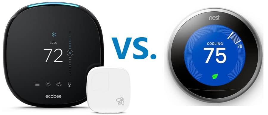 Ecobee vs. Nest thermostat