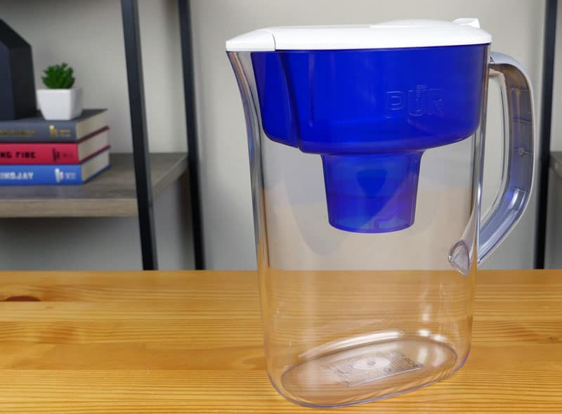 PUR basic water filter pitcher