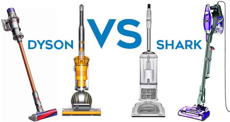 Dyson vs Shark overall vacuum comparison