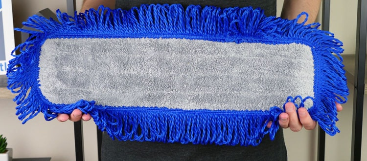 "Buff 18"" professional microfiber dry mopping cleaning pad"