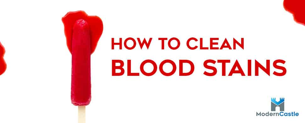 How to Clean Blood Stains