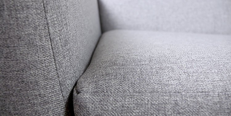 Joybird sofa arm seams