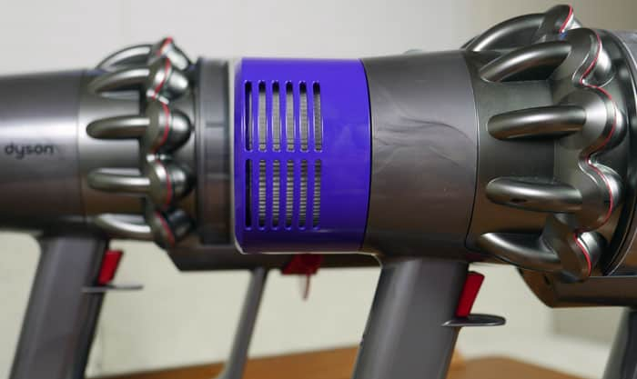 Dyson V10 and V11 cyclones