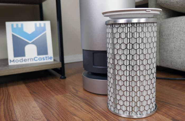 Molekule air purifier PECO filter