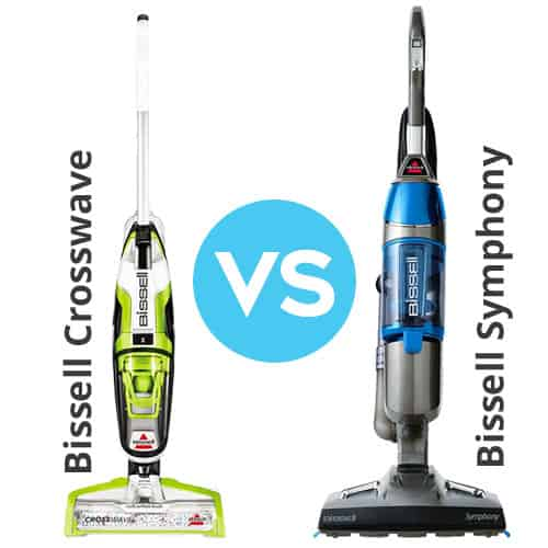 Bissell Crosswave vs  Symphony - Which Vacuum Mop Combo is Best?