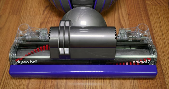Adjustable cleaning head on the Dyson Animal 2