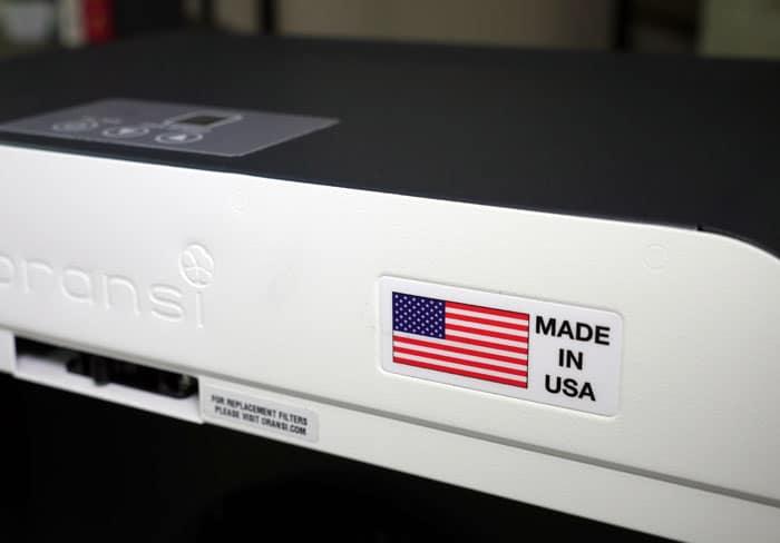 Oransi EJ120 Made in the USA