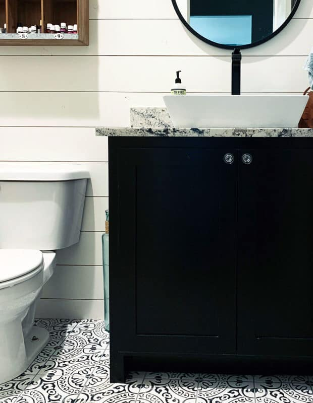 hardware selections for small bathrooms