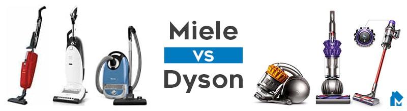 Miele vs Dyson vaccum comparison