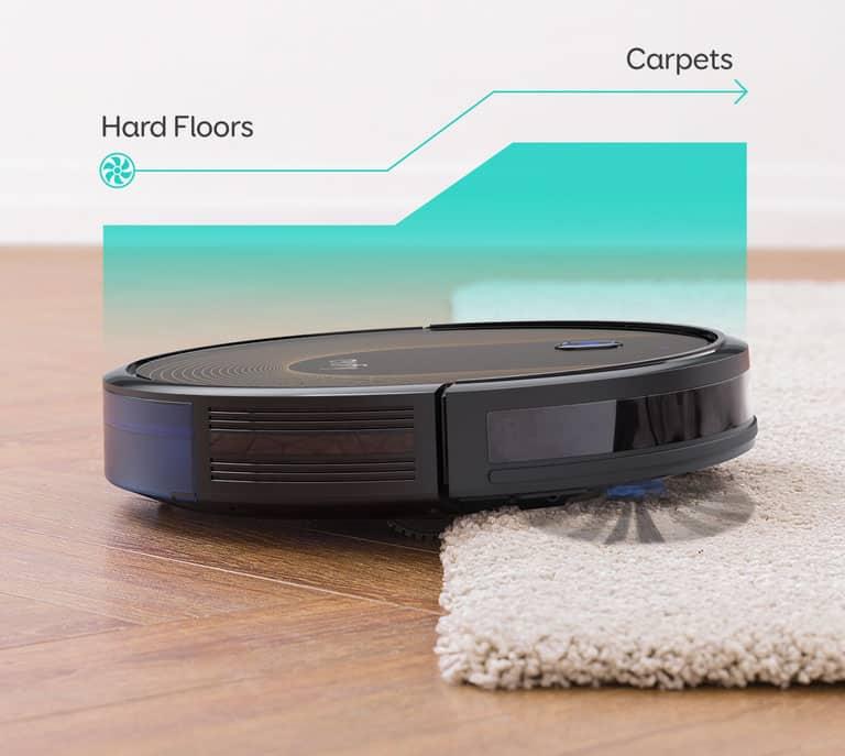 Eufy 30C robot vacuum cleaning