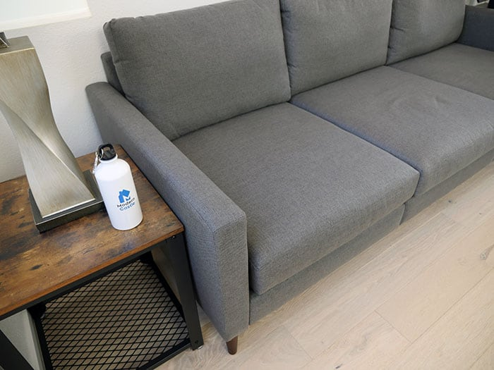 The arms on the Allform sofa
