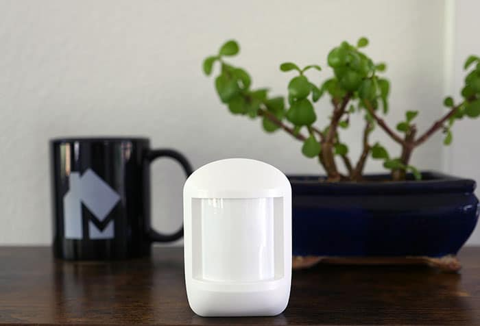 Cove security motion detector
