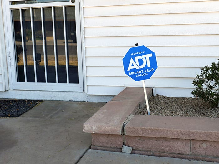 ADT home security system - equipment
